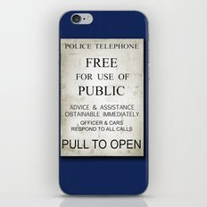 Pull to open! iPhone & iPod Skin