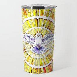 Holy Spirit in Christianity Catholic Church Trinity Sacred, God, Jesus, Bible Travel Mug