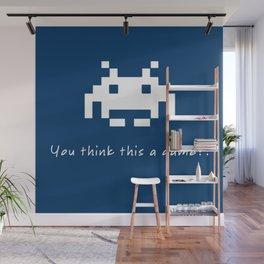 Invader Games Wall Mural