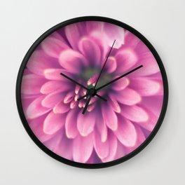 Tentacles of Dreams - Pink Flower Wall Clock