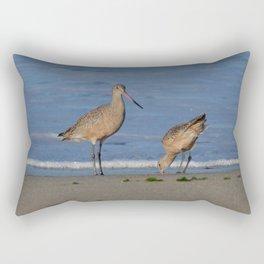 why the beak Rectangular Pillow