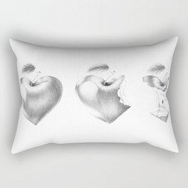 What it left of love? Rectangular Pillow