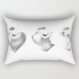 What it left of love? Rectangular Pillow