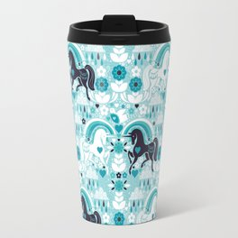 Swedish Candy Garden- Blueberry Travel Mug