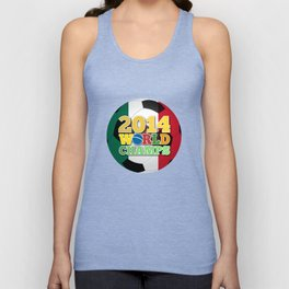 2014 World Champs Ball - Mexico Unisex Tank Top