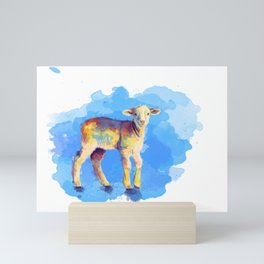 Litte Lamb Mini Art Print