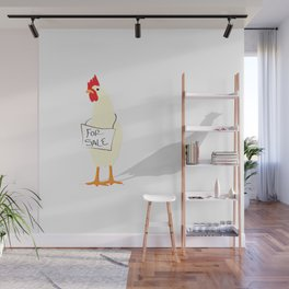 Chicken for Sale Wall Mural