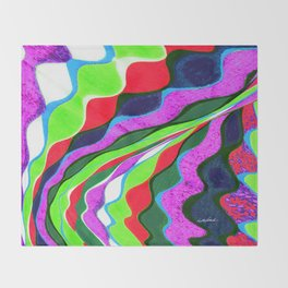 I Dream in Colors Throw Blanket