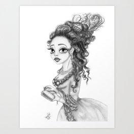 Queen Marie Art Print