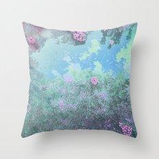 Spring Calling Texture Throw Pillow