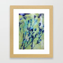 Diazo Series — Brush Framed Art Print