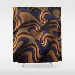 Gnarly One Shower Curtain