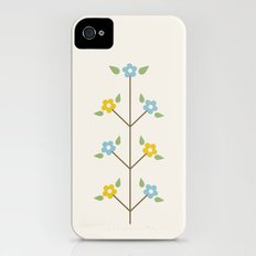 Pale Sprig Slim Case iPhone (4, 4s)
