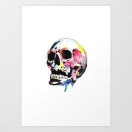 Good time skull 2 Art Print