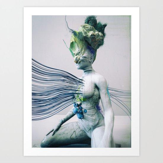 Nebbia Art Print