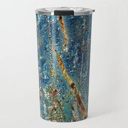 Blue Archetypal Structures Travel Mug