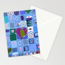 Many Hearts Stationery Cards
