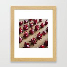 ALL IN LINE Framed Art Print