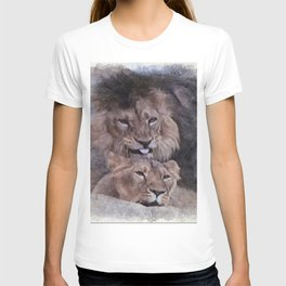 Lions in Love T-shirt