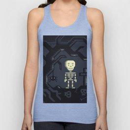 Skeleton boy artwork Unisex Tank Top