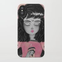 loll3 iPhone & iPod Cases featuring Beverly by lOll3