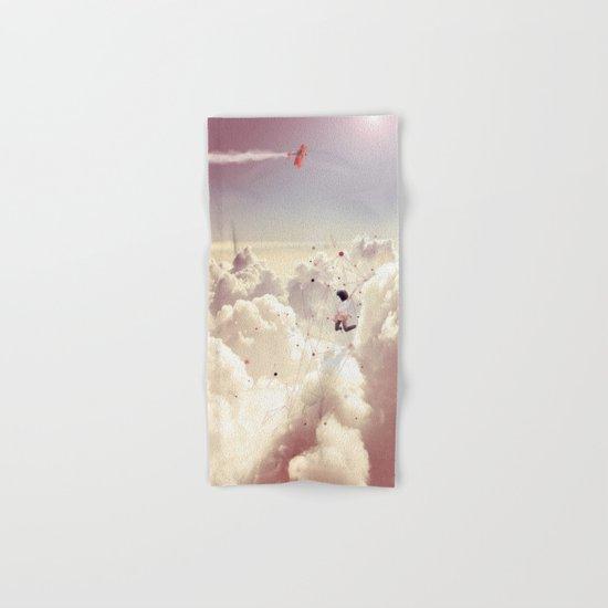 JUMPING IN FLUFFY R' Hand & Bath Towel