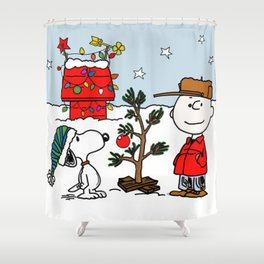 Snoopy 01 Shower Curtain