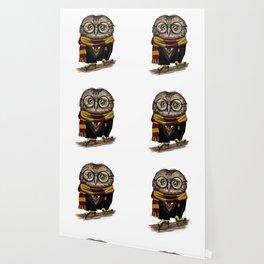 Owly Wizard Wallpaper