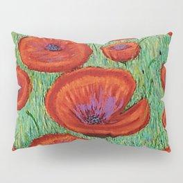 Fields of Red Pillow Sham