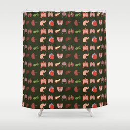 Go Organic Pattern Shower Curtain