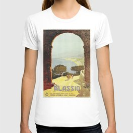 1920s Alassio Italy T-shirt