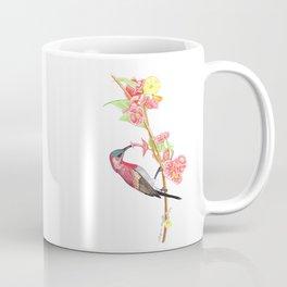 Red Humming bird Coffee Mug