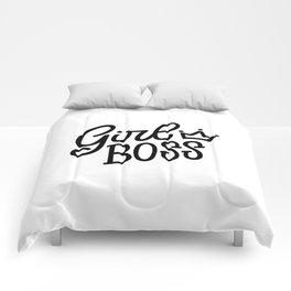 Girl Boss Comforters