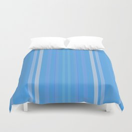 Forget Me Not Blue Duvet Cover
