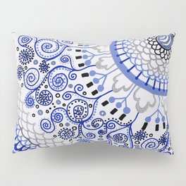 An Answer to the BLues Pillow Sham