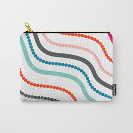 Beads and ribbons Carry-All Pouch
