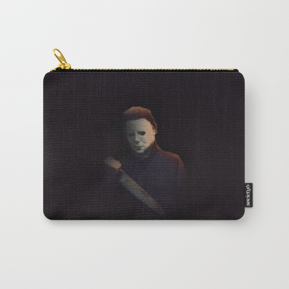 Halloween - Michael Myers Carry-all Pouch by Dangerousdesigns CAP8282402