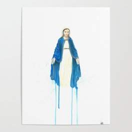 The Virgin Mary Poster