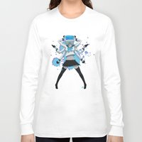 vocaloid Long Sleeve T-shirts featuring What the hell's going on?! by Helixel