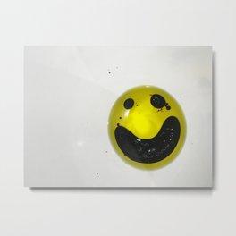 Oil Smile and Vinegar Metal Print