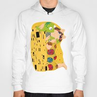 muppets Hoodies featuring Klimt muppets by tuditees