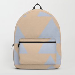 Southwest Triangles No 1 in Desert Peach Backpack