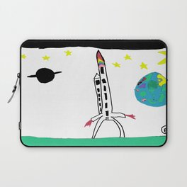 Earth from Space Laptop Sleeve