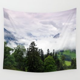 mountain view i. Wall Tapestry
