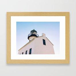 Light the Lighthouse Framed Art Print