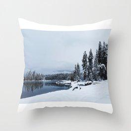 Lake Wenatchee Throw Pillow