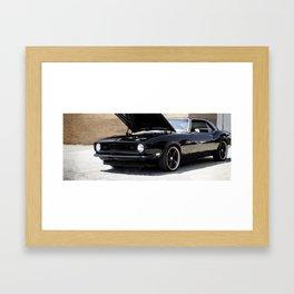 Triple Black Framed Art Print