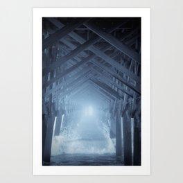 Under the Pier 2 Art Print