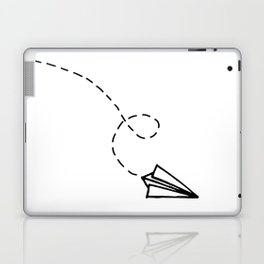 Send It // Simple Paper Airplane Drawing Laptop & iPad Skin