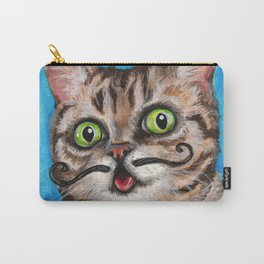 Lil Bub - Cats with Moustaches Carry-All Pouch